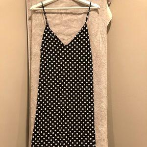 Zara polka dot maxi dress